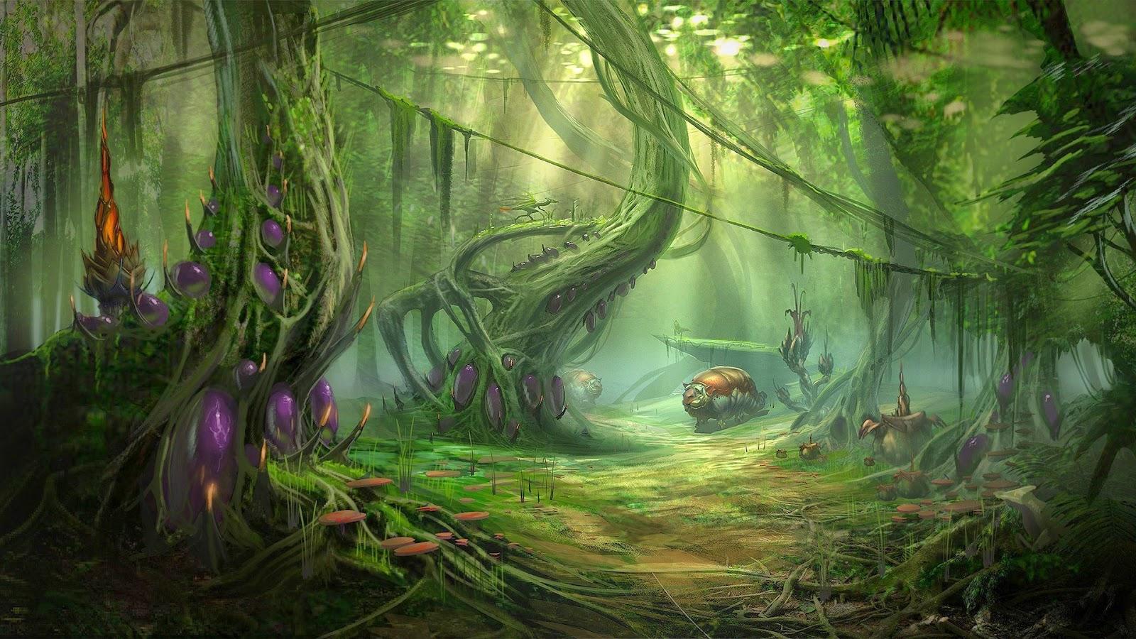 Jungle Wallpaper World Of Warcraft: Costumi Per Elfi, Folletti E Gnomi