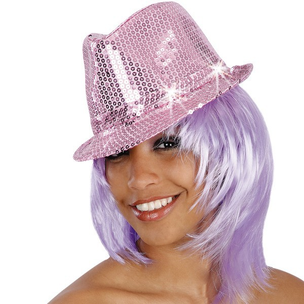 cappello gangster rosa