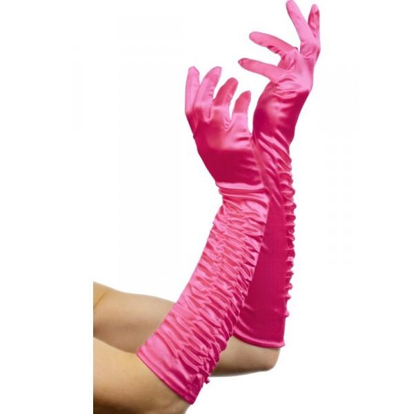 guanti rosa