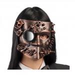 maschera bautta steampunk rame