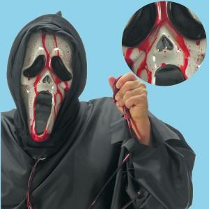 maschera scream sanguinolenta