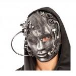 Maschera donna steampunk viso intero
