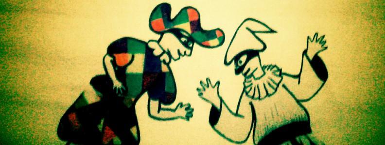 Arlecchino e Pulcinella, travestimenti tradizionali!