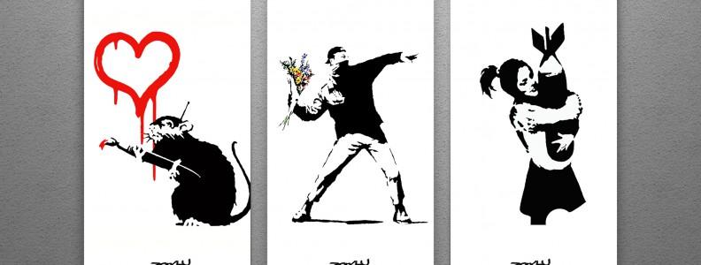 Mostra d'arte di Bansky a Roma