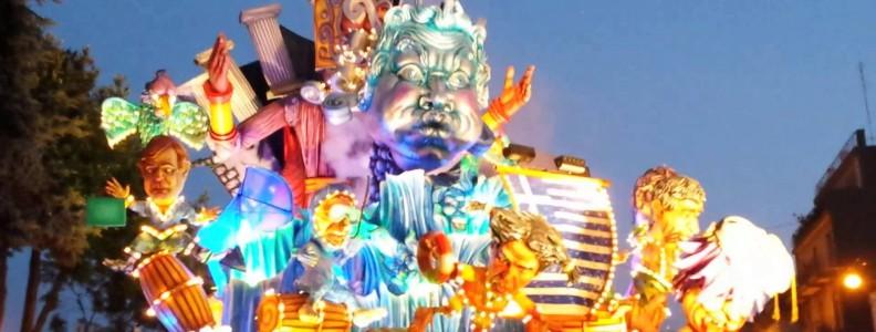 Il Carnevale estivo di Acireale