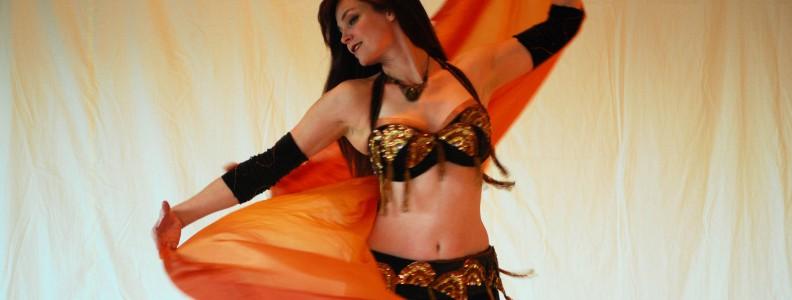 Il costume per la danza del ventre