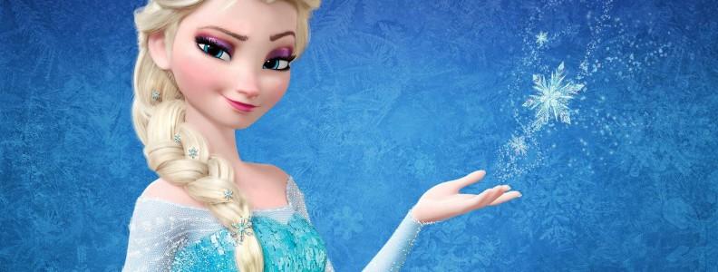 Costume di Elsa Frozen, la regina del Ghiaccio