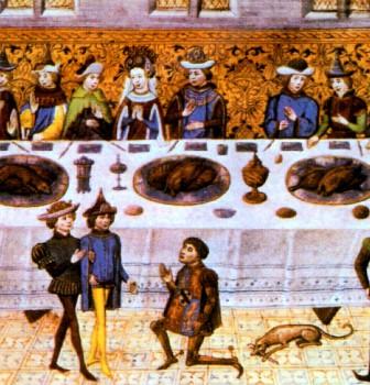 Matrimonio in stile medievale