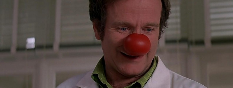 Naso clown in spugna