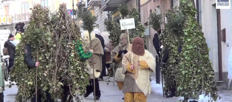Costume da U Rumit – uomo mascherato da Albero